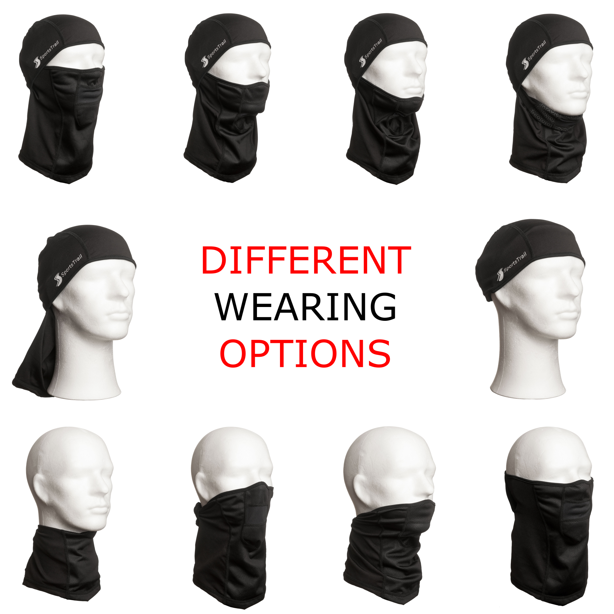 Different wearing options
